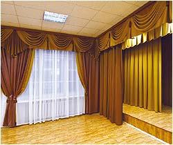 Интерьер актового зала пример